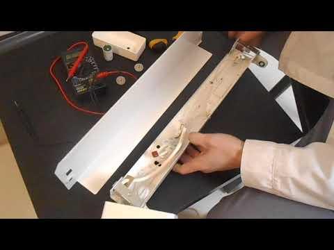 Ремонт бактерицидного облучателя или бактерицидной лампы