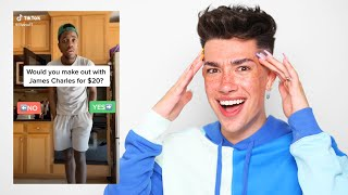Reacting to Crazy Tik Toks About Me!