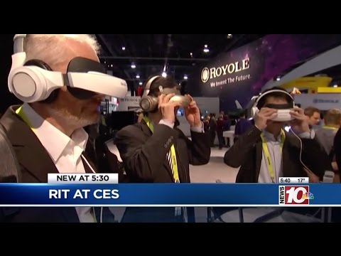 RIT on TV: Consumer Technology Study at CES
