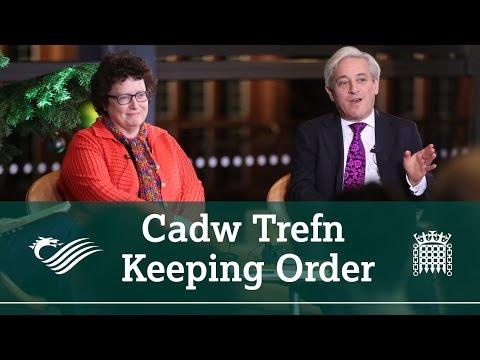 Cadw Trefn / Keeping Order