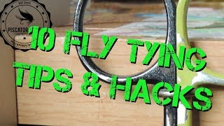 10 Fly Tying Hacks and Tips for Fly Tyers #1