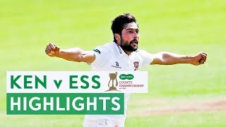 Mohammad Amir Stars in Last Ever Red Ball Match | Kent v Essex | Specsavers County Championship