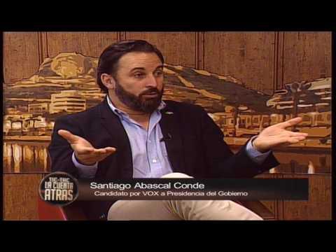 La Cuenta Atrás - Entrevista a Santiago Abascal, candidato de VOX