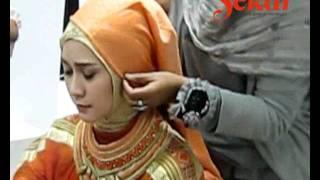Pemotretan Zaskia Mecca untuk Cover Majalah Sekar