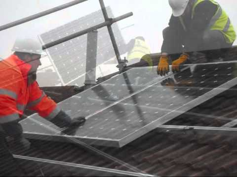 Installing Solar Panels - Solar Sunpower UK