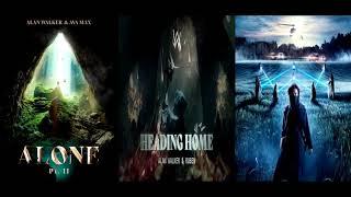 Heading Home ✘ Alone Pt. II ✘ On My Way [Remix Mashup] - Alan Walker, Ava Max, Ruben & More