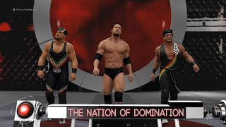 WWE 2K16: The Nation of Domination Entrance! (WrestleMania 31 Arena)