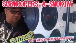 SUBWOOFERS-A-SMOKIN' 4 15
