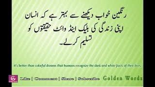 Amazing Quotes | Amazing quotes about life |Amazing quotes status | In Urdu & English Golden Wordz