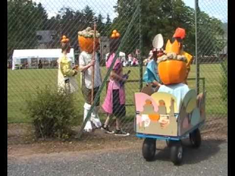 Geodecian Orange Muffin King Parade