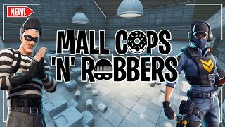 Mall Cops 'N' Robbers // Fortnite Creative Minigame! // Code + Trailer