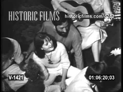 GREENWICH VILLAGE FOLK SCENE 1961, BEATNIKS , FOLK MUSIC CLUBS