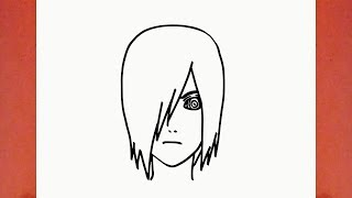 HOW TO DRAW NAGATO FROM NARUTO