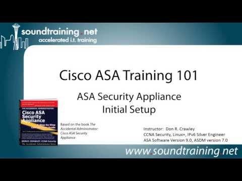 Cisco ASA 5505 Firewall initial setup Part 1