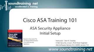 Cisco ASA 5505 Firewall Initial Setup:  Cisco ASA Training 101