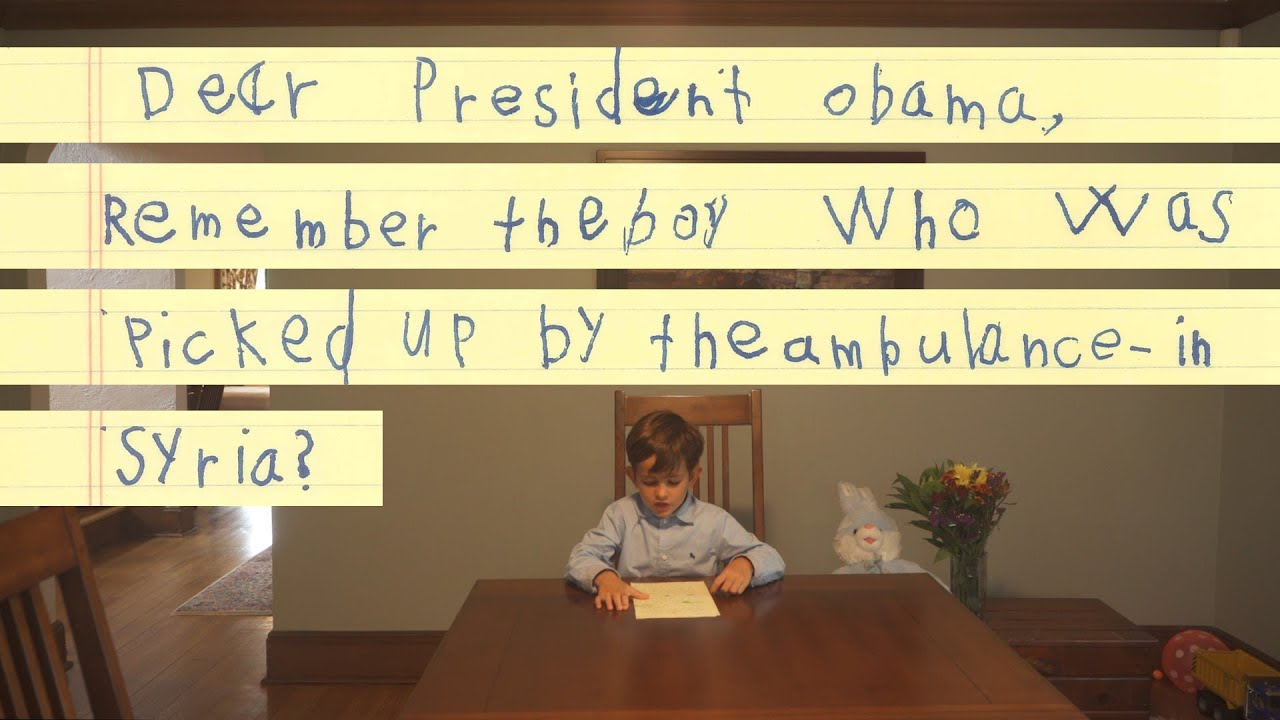 Dear president obama we will give him a family youtube spiritdancerdesigns Image collections