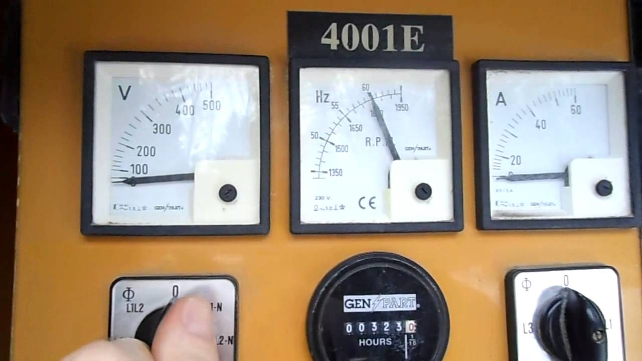 Olympian D30p1 3phase 375kva 480 277 Diesel 322hrs Emergency Power Genset Wiring Diagram Generator Youtube