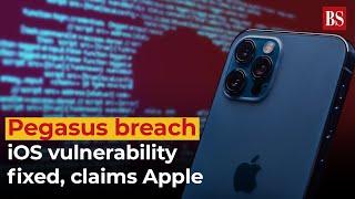 Pegasus breach: iOS vulnerability fixed, claims Apple