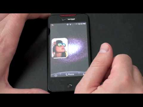 HTC Droid Incredible: Software Tour