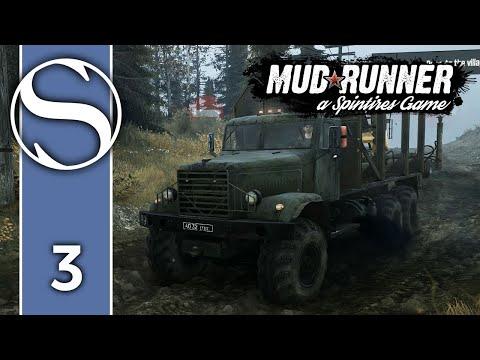 #3 Spintires MudRunner - Spintires MudRunner Gameplay [Night Safari]