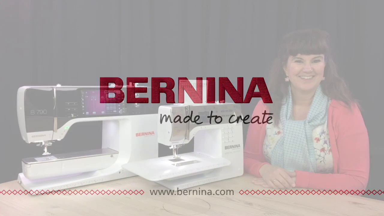 BERNINA webinar: Lær at bruge hukommelsen i din symaskine