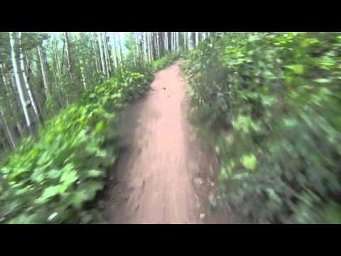 Beaver Creek XTERRA Bike course- XTERRA Beaver Creek- Allies Way
