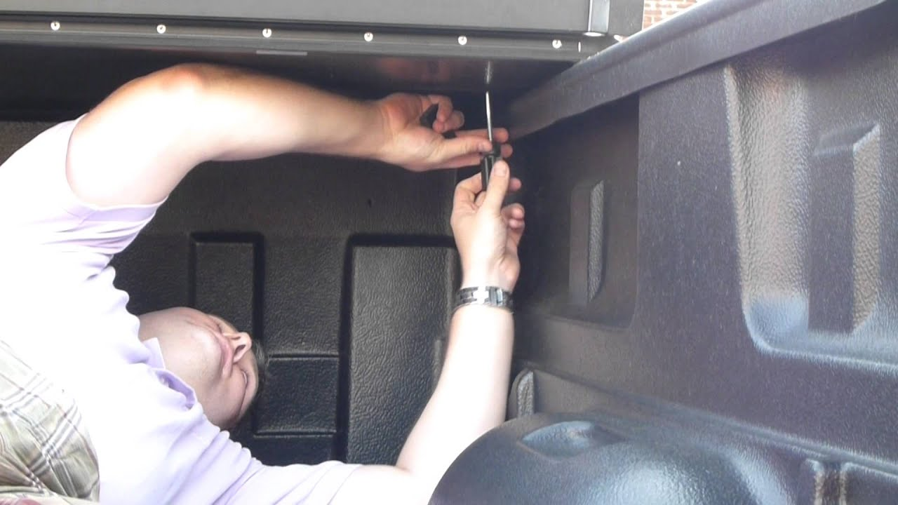 Rugged Liner Hard Folding Tonneau Cover Unboxing Installation