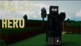 ◼️*TUTORIAL* Fallen Hero/Villain Mech/Ragdoll!◼️| Roblox Build a Boat