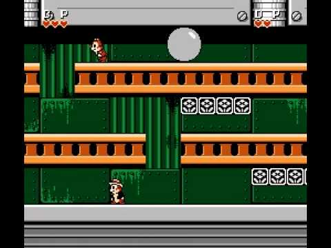 NES Longplay [128] Chip 'n Dale: Rescue Rangers (a)