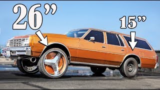 Drag Racing On 26 Inch Rims - Wtf?!