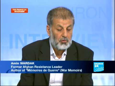 FRANCE 24 The Interview - Interview of Amin Wardak