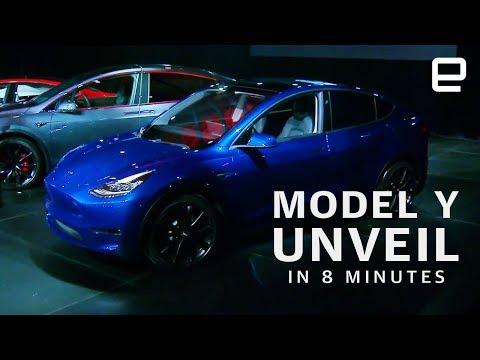 Tesla Model Y Unveil in 8 minutes