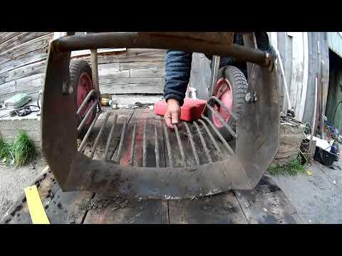 Как сделать картофелекопалку своими руками к мотоблоку видео