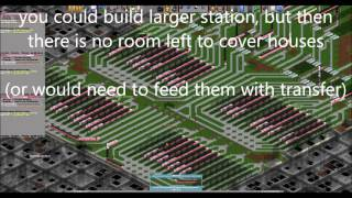 OpenTTD very large train stations