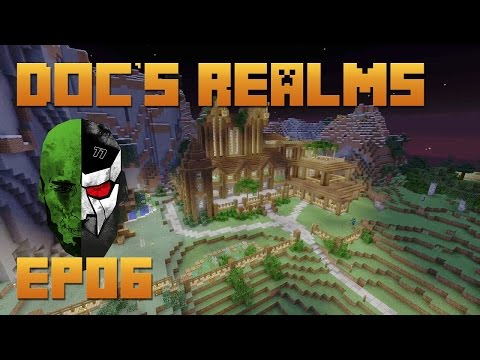 Docm77's Minecraft REALMS - Amazing Mansion & Awesome Teamwo