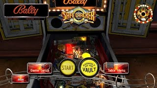 Pinball Arcade - Safe Cracker DX11 PC Gameplay (60fps)