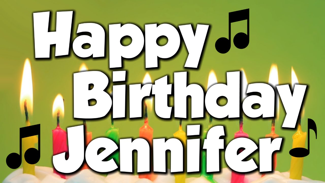 Image result for happy birthday Jennifer