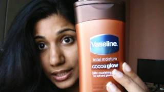 vaseline cocoa glow body butter review + cut shorts Thumbnail