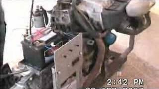 Funcionamiento del motor diésel con aceite vegetal