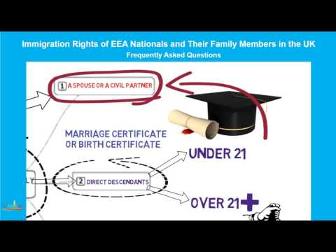 Direct Family Members of European Economic Area( EEA) Nationals in the UK