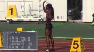 2014陸上日本GP 静岡国際陸上 女子200m決勝A・B