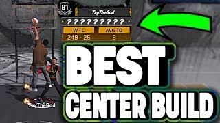 UNSTOPPABLE DEMIGOD BIG MAN • WIN ALL GAMES •  BEST CENTER BUILD NBA 2K18