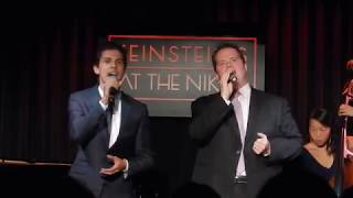 Nikita Burshteyn and John Treacy Egan singing You Will Be Found/I Am What I Am (9/11/17)
