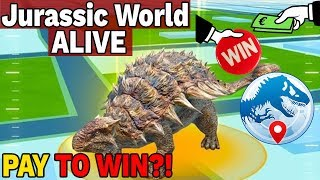 TA GRA TO PAY TO WIN? - Jurassic World Alive