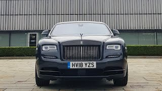 Collecting A 2018 Rolls-Royce Wraith Black Badge!