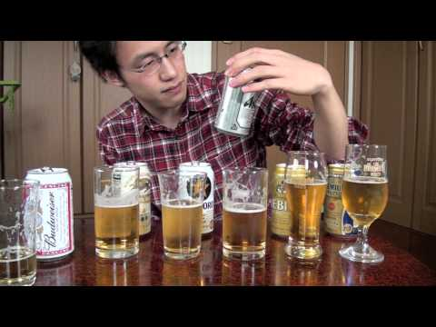 Comparing Five Japanese Major Beers