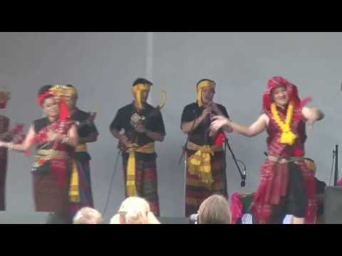 Amazing Thai Dance at Moscow Cultural Festival