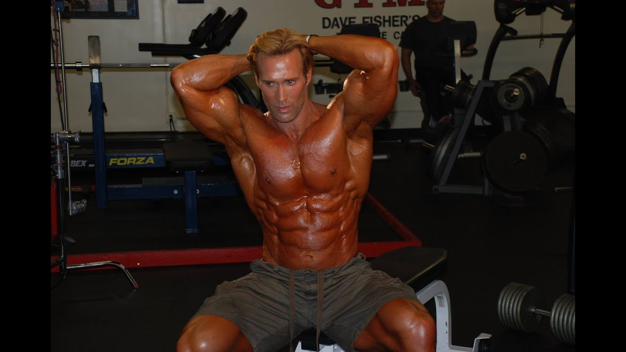 steroid use in fitness models