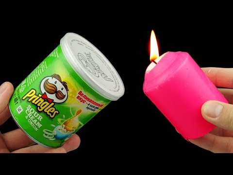 9 COOL LIFE HACKS WITH PRINGLES!