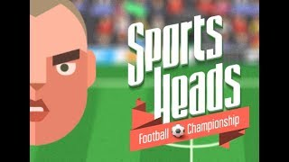 Sports Heads Football Championship Full Gameplay Walkthrough